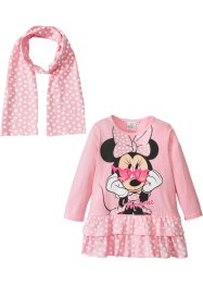 "Abito + sciarpina ""MINNIE"" (set 2 pezzi), Minnie Mouse"