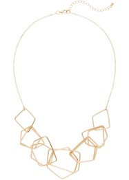 Collana con elementi geometrici, bpc bonprix collection