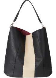 Borsa shopper bicolore, bpc bonprix collection