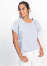 Blusa a righe con volants, BODYFLIRT
