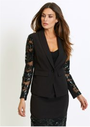 Blazer con maniche in pizzo, bpc selection premium
