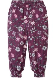 Pantalone fantasia con elastico, bpc bonprix collection