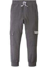 Pantalone in felpa stile cargo, bpc bonprix collection