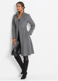 Cappotto con cerniera, BODYFLIRT boutique