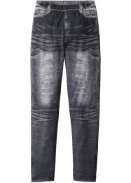 Leggings con stampa effetto denim, bpc bonprix collection