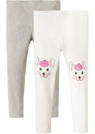 Leggings (pacco da 2), bpc bonprix collection