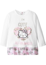 "Maglia a manica lunga con volant ""HELLO KITTY"", Hello Kitty"