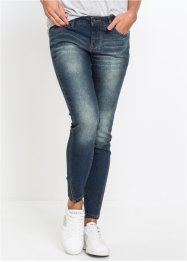 Jeans skinny con cuciture laterali oblique, RAINBOW