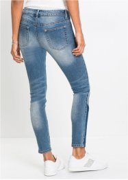 Jeans skinny cropped tricolori, RAINBOW