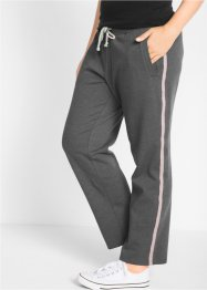 Pantalone da jogging lungo con ricamo, bpc bonprix collection