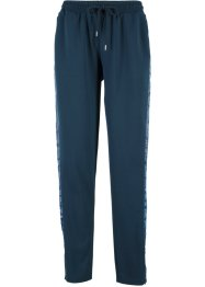 Pantalone in felpa con satin Maite Kelly, bpc bonprix collection