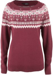 Pullover con motivi jacquard, bpc bonprix collection