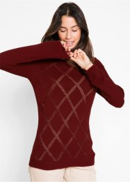 Pullover traforato, bpc bonprix collection