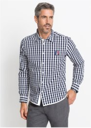 Camicia a quadri slim fit, bpc selection