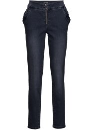 Jeans con ruches relaxed fit, BODYFLIRT