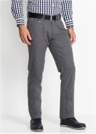 Pantalone 5 tasche flanellato regular fit, bpc selection