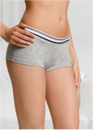 Culotte (pacco da 4) in cotone biologico, bpc bonprix collection