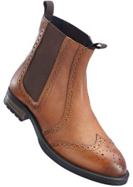 Stivaletto Chelsea in pelle, bpc selection
