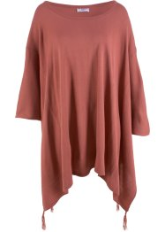 Pullover poncho con punte, bpc bonprix collection