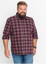 Camicia in tessuto compatto regular fit, John Baner JEANSWEAR