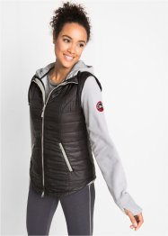 Gilet funzionale 3 in 1 con giacca in pile, bpc bonprix collection
