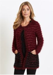 Cardigan in filato piumato, bpc selection