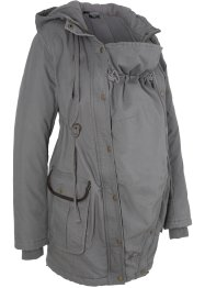 Parka prémaman con porta-bimbo, bpc bonprix collection