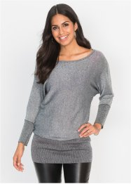 Pullover in lurex, BODYFLIRT