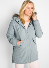 Parka con rifiniture in ecopelliccia, bpc bonprix collection