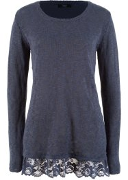 Pullover con pizzo, bpc bonprix collection