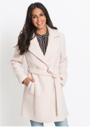 Cappotto in misto lana con collo a revers, BODYFLIRT