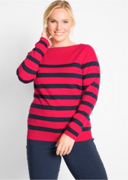 Pullover con scollo a barchetta, bpc bonprix collection