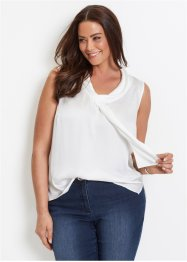 Blusa senza maniche in satin, bpc selection
