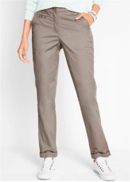 Pantaloni chino con cinta regolabile, bpc bonprix collection