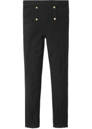 Pantalone elasticizzatio con bottoni decorativi, bpc bonprix collection
