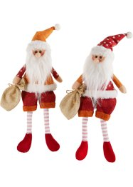 "Figure decorative ""Nils & Markus"" (set 2 pezzi), bpc living"