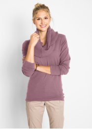 Pullover 2 in 1 con sciarpa (set 2 pezzi), bpc bonprix collection