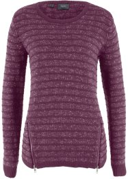 Pullover con cerniere, bpc bonprix collection