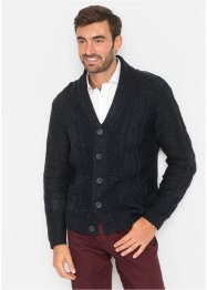 Cardigan in filato fantasia regular fit, bpc selection
