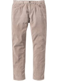 Pantalone 5 tasche in velluto regular fit, bpc bonprix collection
