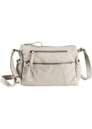 Borsa casual con cerniere, bpc bonprix collection