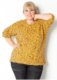 Pullover in filato fantasia Maite Kelly, bpc bonprix collection