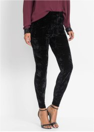 Leggings in velluto, BODYFLIRT