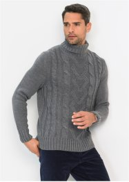 Pullover dolcevita regular fit, bpc bonprix collection