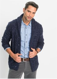 Cardigan con trecce regular fit, bpc bonprix collection