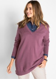 Pullover con scollo a V profondo, bpc bonprix collection