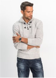 Pullover con trecce regular fit, bpc bonprix collection