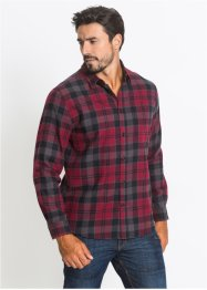 Camicia in flanella regular fit, John Baner JEANSWEAR