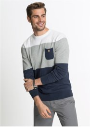 Pullover con taschino, bpc bonprix collection