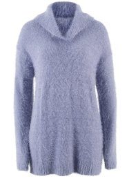 Pullover oversize in filato peloso, bpc bonprix collection